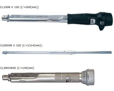Click Type Torque Wrench (CL/CLE) 1