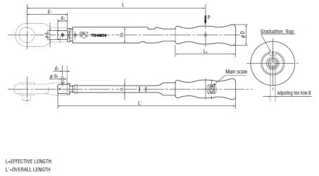 Click Type Torque Wrench (PCL) 3