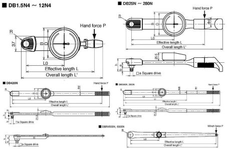 Dial Indicating Torque Wrench (DB/DBE/DBR-S) 3