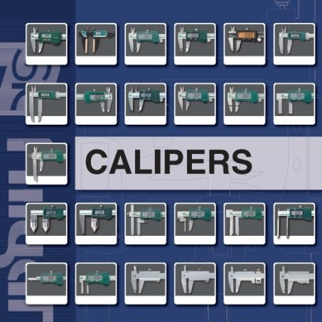 Dial Calipers (opt. w/ Carbide Tipped Meas. Face)(DVC Series) 3