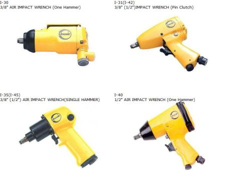 "AIR IMPACT WRENCH (3/8"", 1/2"") 1"