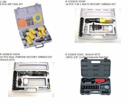 AIR IMPACT & RATCHET WRENCH KIT 3